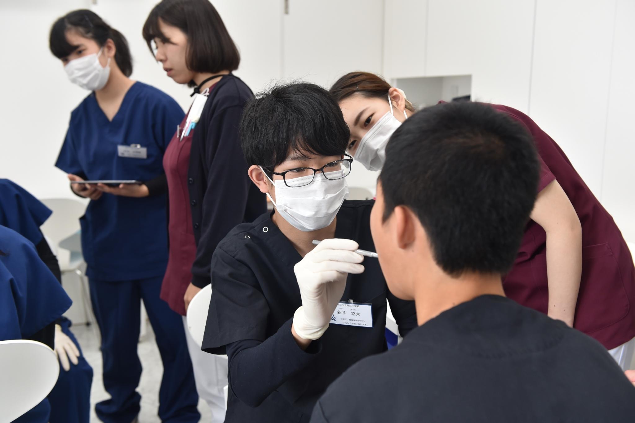 職場体験検診2